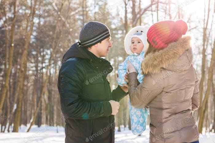 Портрет пары с сыном