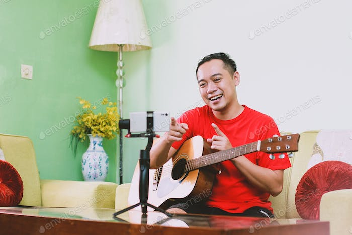 Musician Vlogger and Youtuber