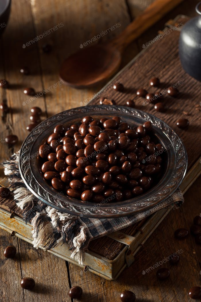 Chocolate Covered Espresso Coffee Beans