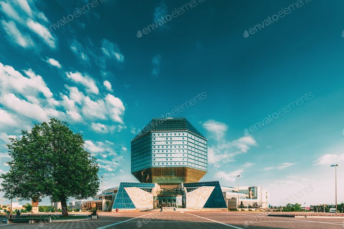 Nationalbibliothek von Belarus In Minsk