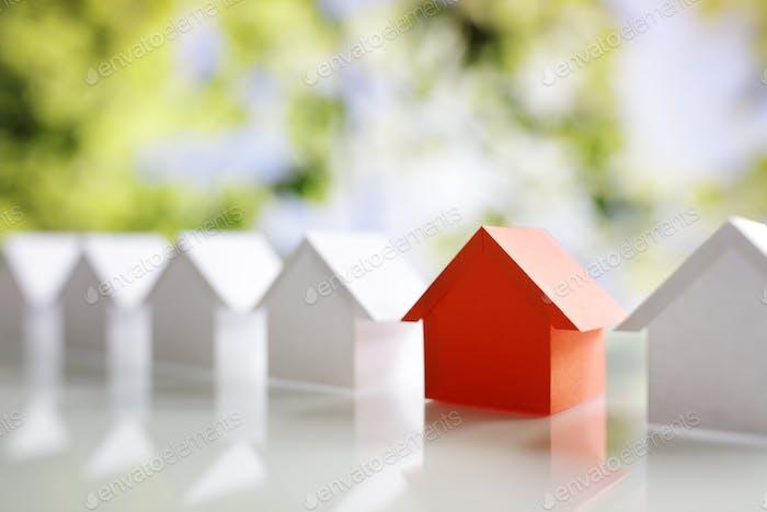 Suche nach Immobilien, Haus oder neues Haus
