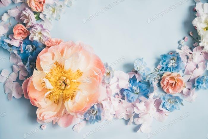 Blume im Hintergrund