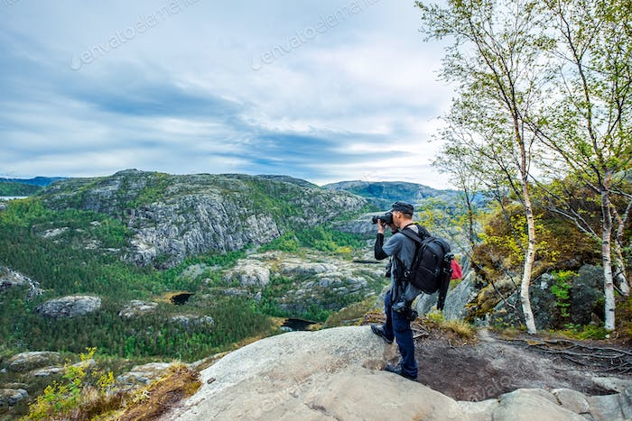 Nature photographer Beautiful Nature Norway.