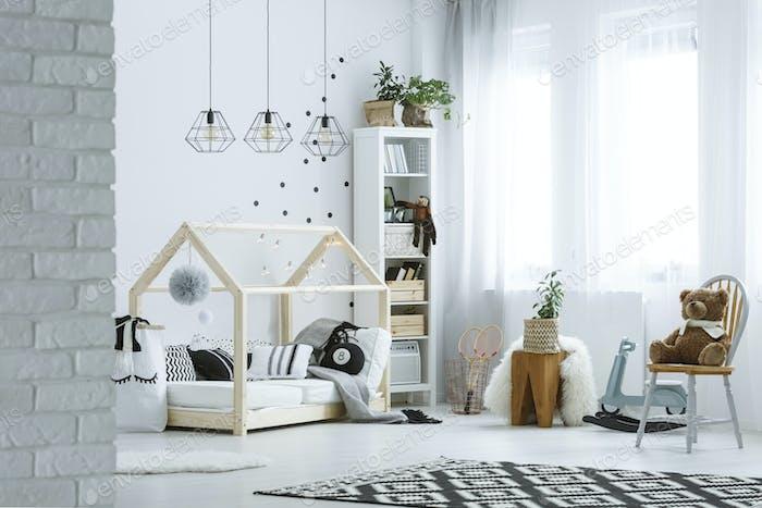 Habitación Bebé en loft