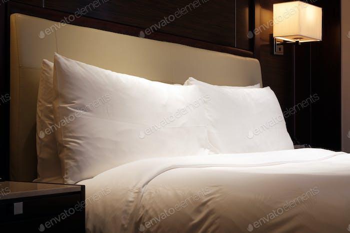 Standard king size beds hotel room