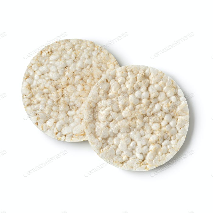 Pair of rice crackers