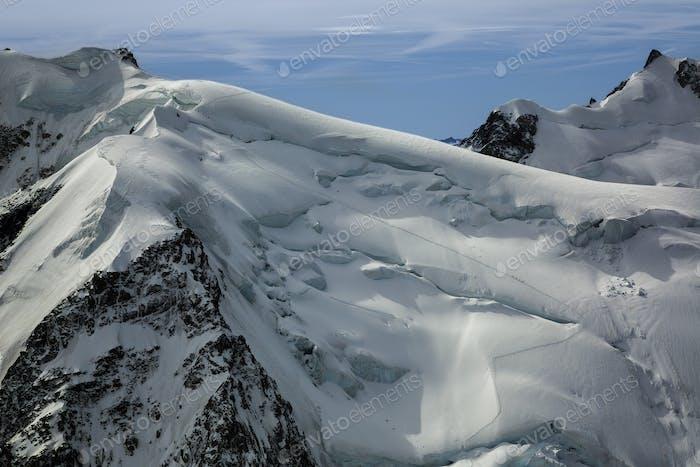 54500,Mountaineers on Mt. Blanc, Chamonix, France