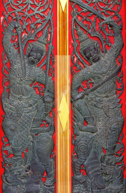 Thai design entrance