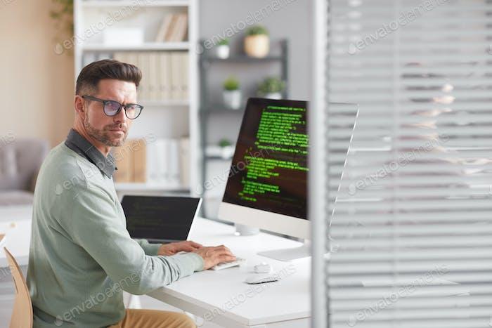 Developer working in company
