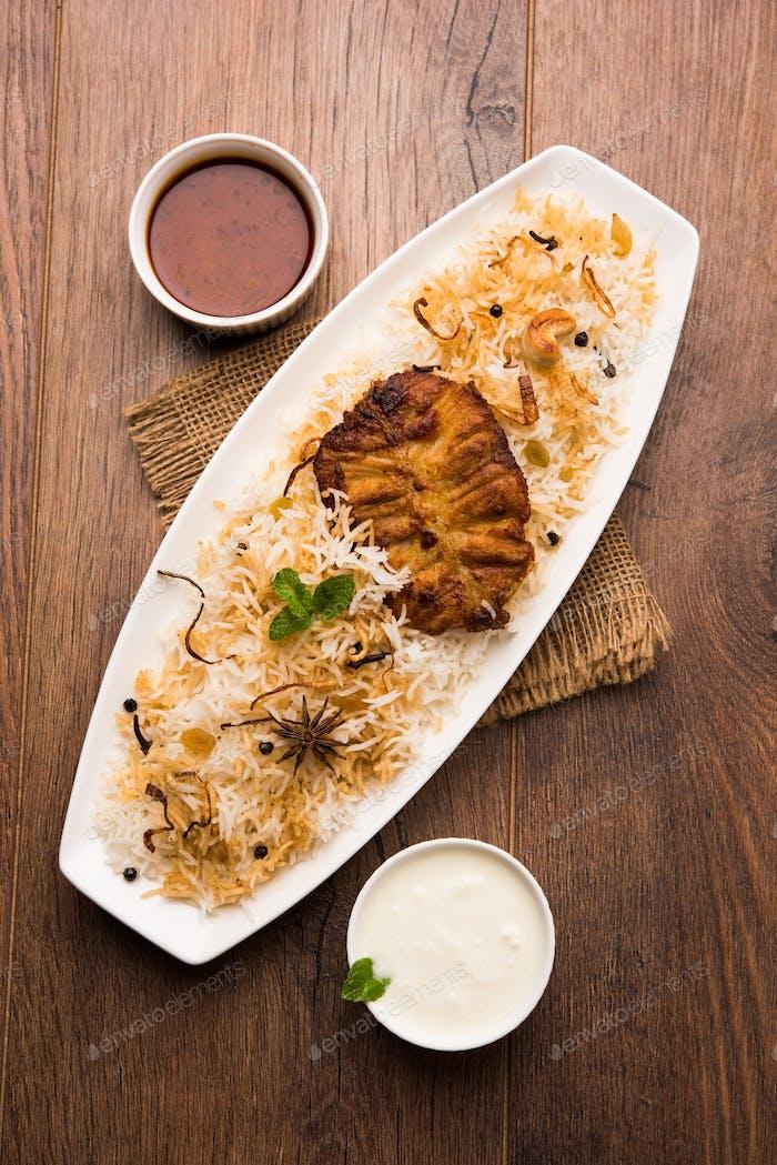 Authentic Fish Biryani