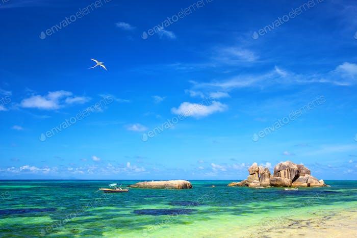 Praslin coastline