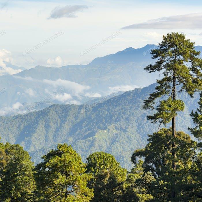 Guatemala Mountain Landscape