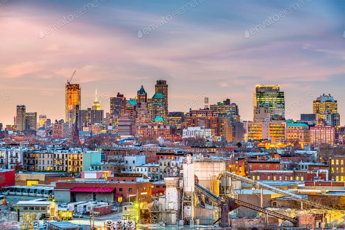 Brooklyn, New York Skyline