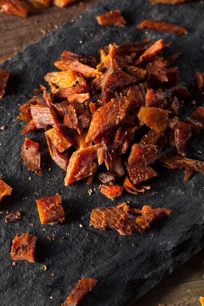 Dried Smoked Salmon Jerky