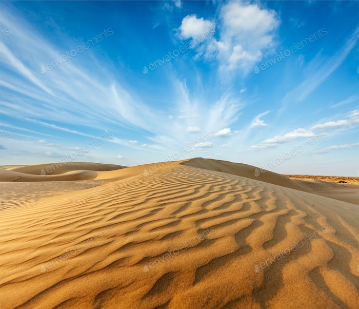 Dunes of Thar Desert, Rajasthan, India
