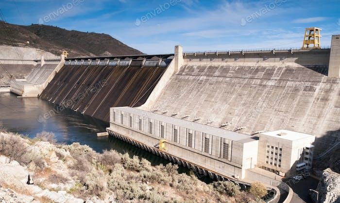 Grand Coulee Dam Wasserkraftwerk Washington State