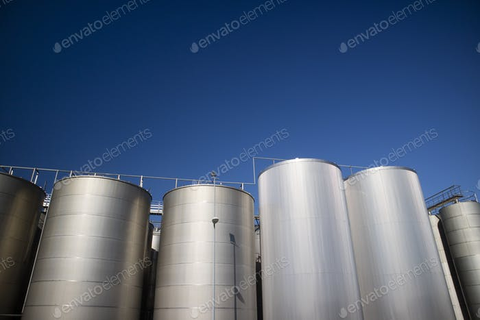 Series of Industrial Silos