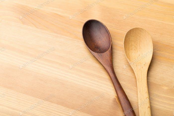 Holz-Teelöffel