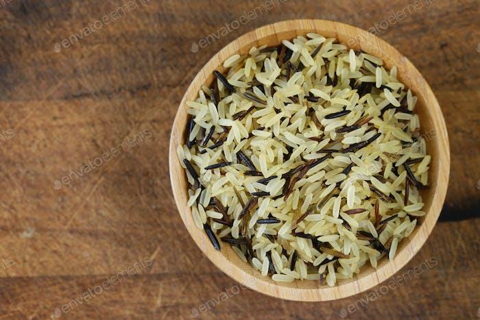 Mischung aus Reis