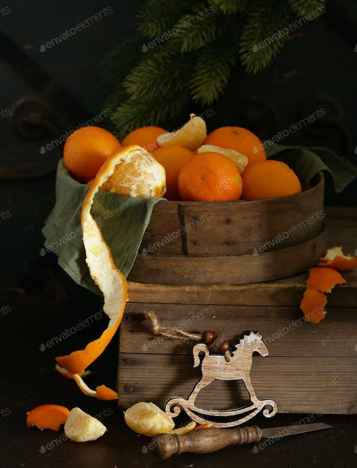 Natural Orange Tangerines