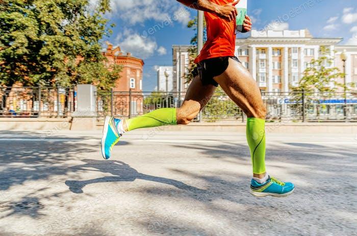 male runner athlete run