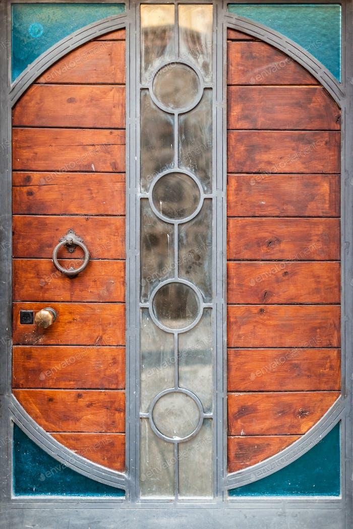 Steampunk-Tür