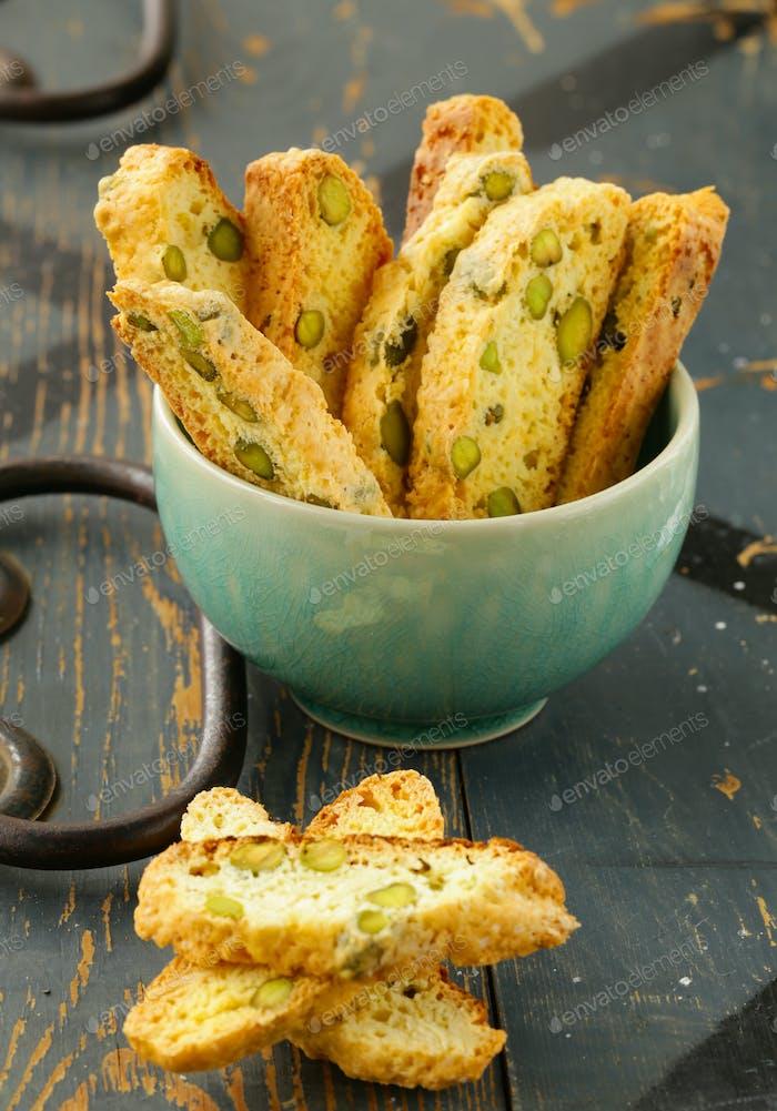 Traditional Italian Biscotti Cookie