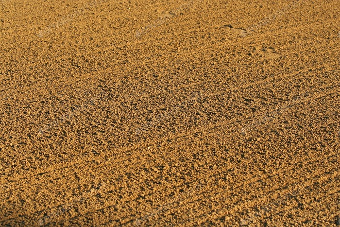 Baseball infield sandy background texture