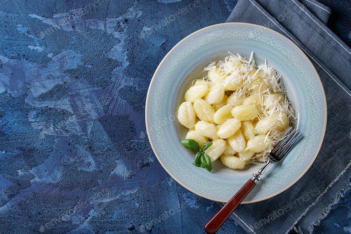 Creamy potato gnocchi