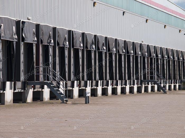 Freight Docks Export Door Concept