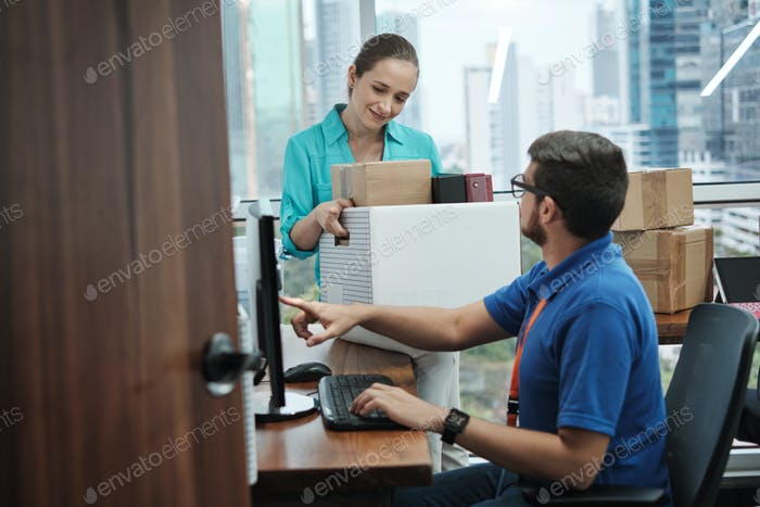 IT Support Setting New Computer