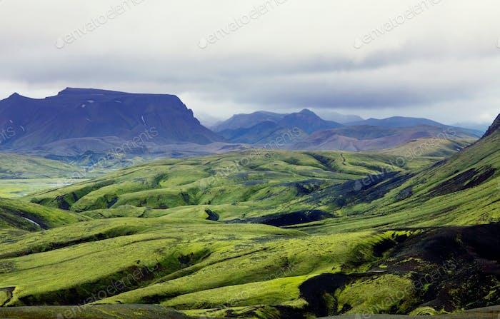 Berge in Island