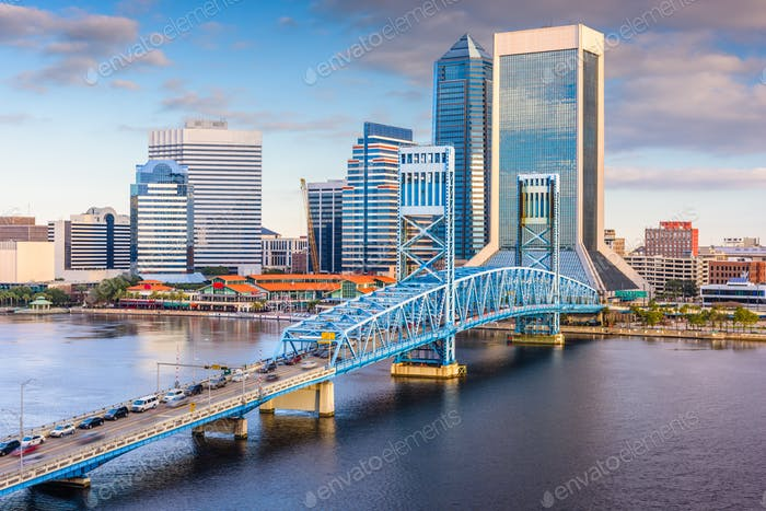 Jacksonville, Florida, USA Skyline