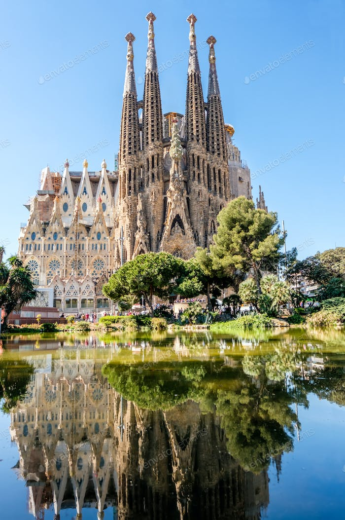 Sagrada Familia - Catholic church in Barcelona