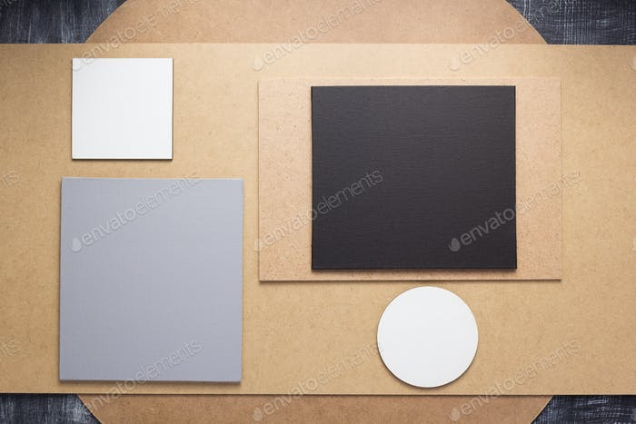 wooden and fiberboard background