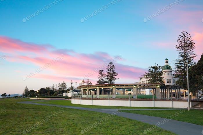 Napier Foreshore at Sunrise