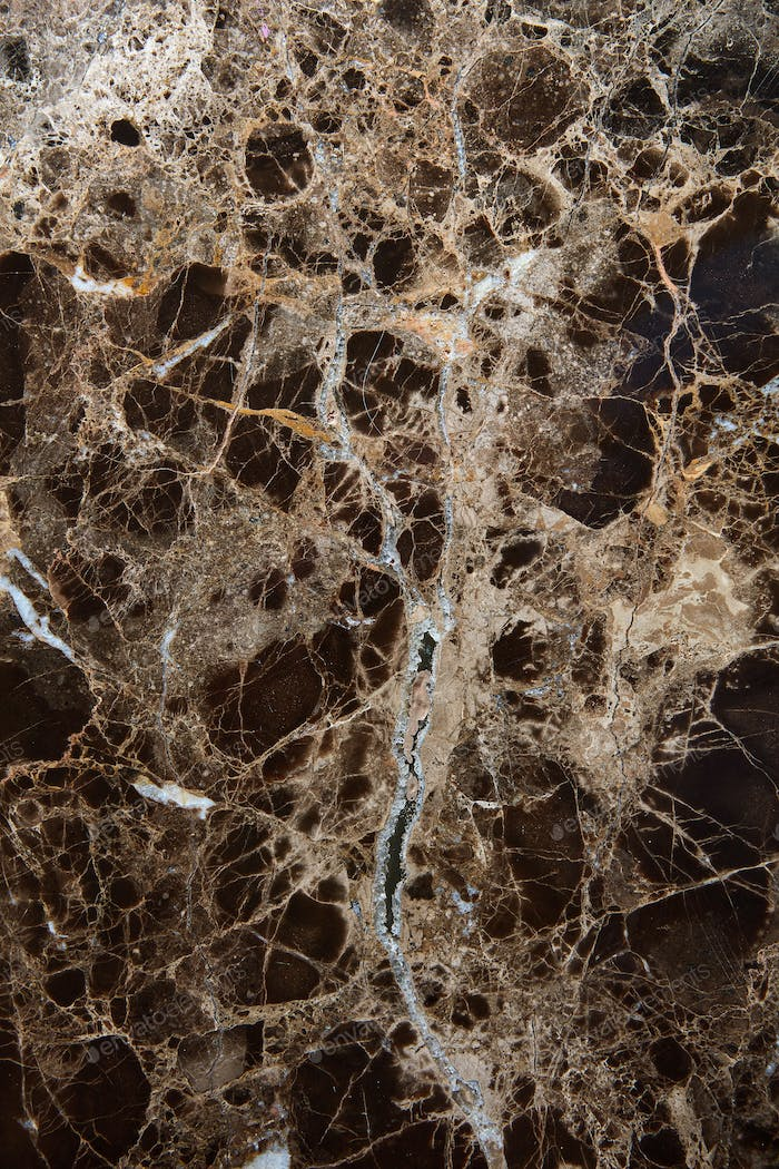 Black and brown marble texture background.