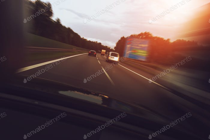 Fast Left Lane Driving