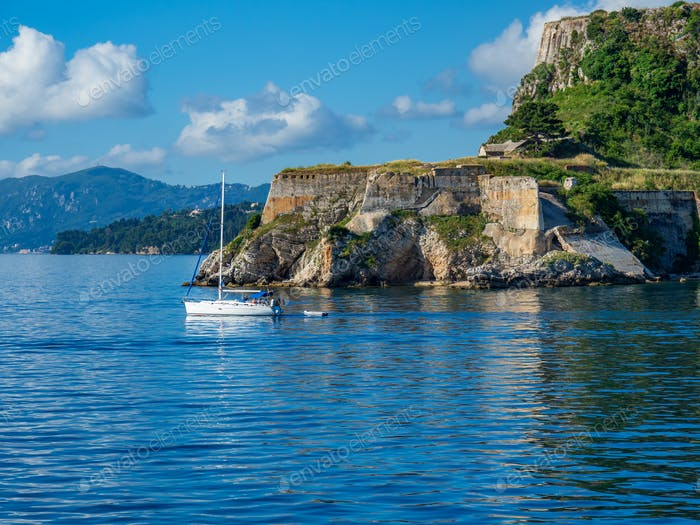 Old castle of Corfu town