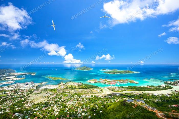 Mahe coastline