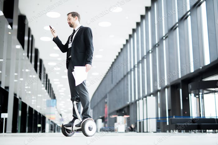 Texting on the move