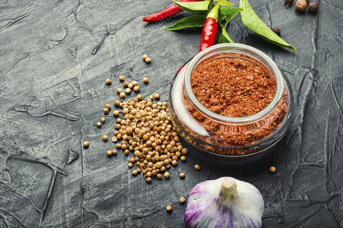 Dry adjika seasoning