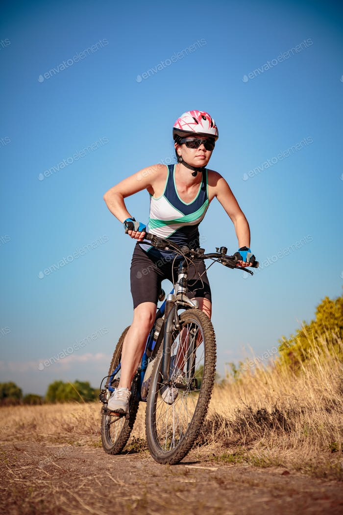 Women on bike