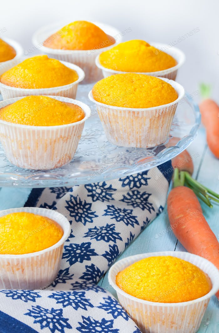 Italian Style Carrot Muffins