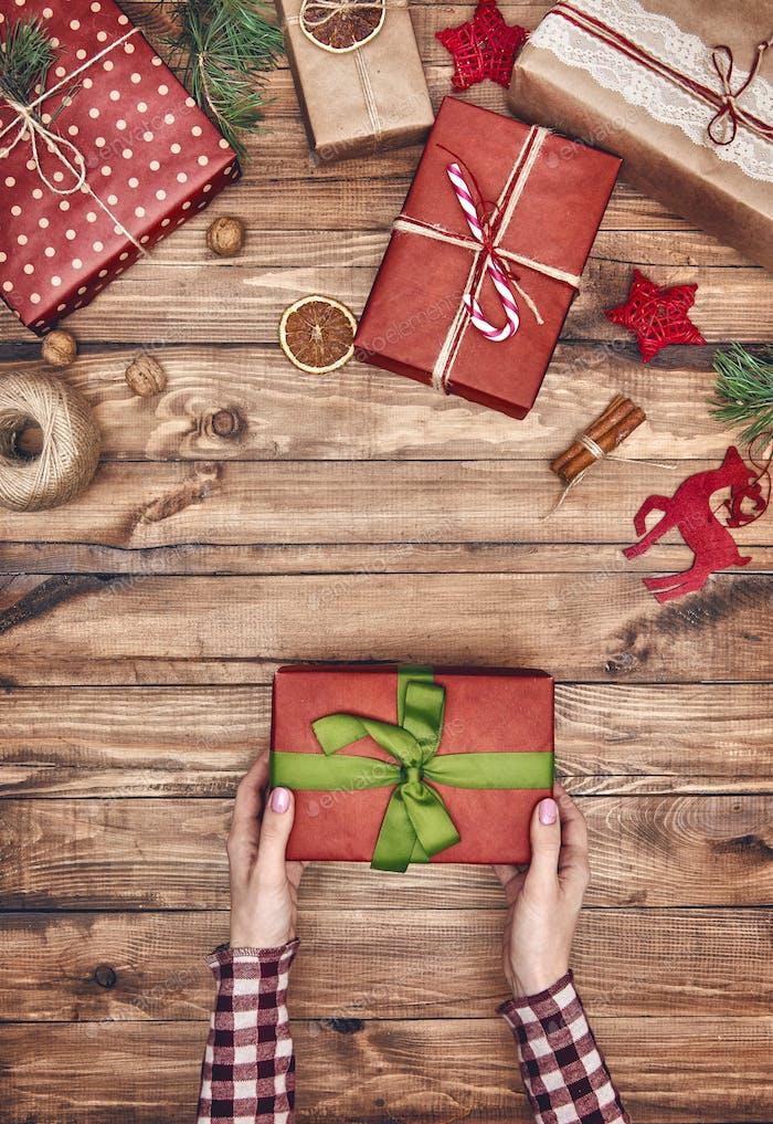 Weihnachten Familientraditionen.