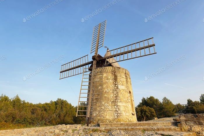 Windmill of Daudet - Fontvieille - Provence, France
