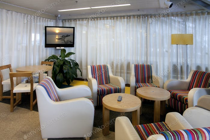 Business Lounge at an Airport