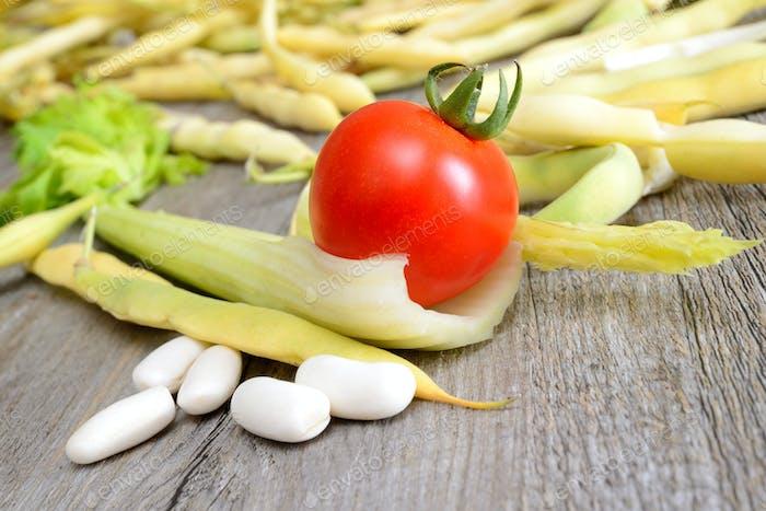 fresh white beans