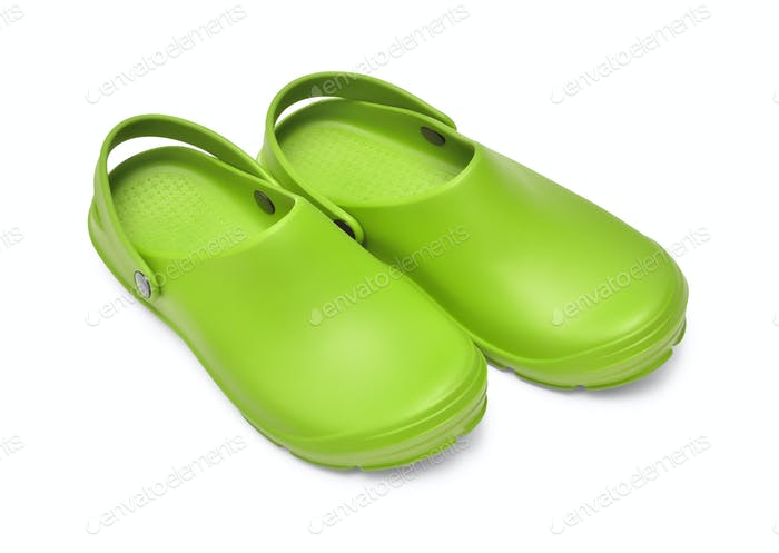 Clogs green