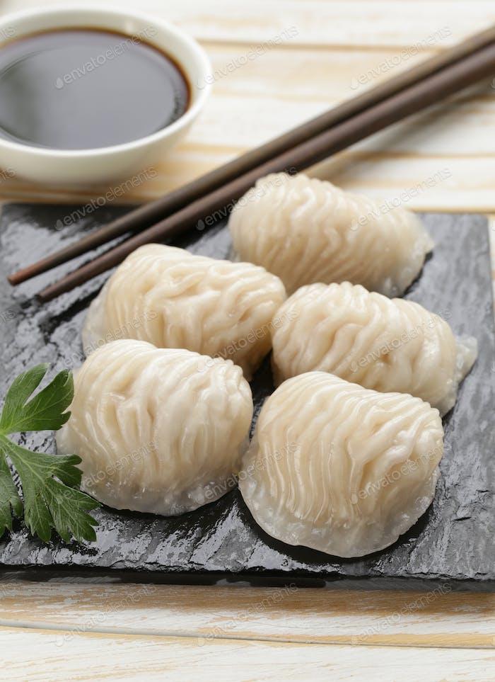 Asiatische Gedämpfte Fleischknödel